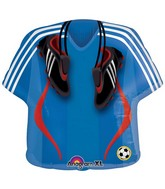 "24"" Super Soccer Jersey Shape Balloon"