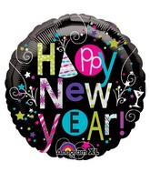 "18"" Playful Happy New Year Balloon"