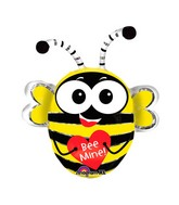 "29"" SuperShape Buzz&#39n Bee Balloon Packaged"