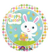 "18"" Adorable Bunny Foil Balloon"