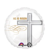 "18"" He Is Risen Balloon"