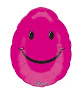 "18"" Smiley Egg Balloon"