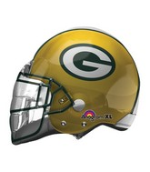 "21"" Green Bay Packers Helmet NFL Balloon"