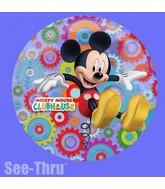 "26"" Mickey Mouse Clubhouse See-Thru Balloon"