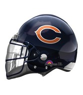 "21"" Chicago Bears Helmet NFL Balloon"
