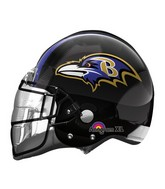 "21"" Baltimore Ravens Helmet NFL Balloon"