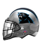 "21"" Panthers Helmet NFL Jumbo Balloon"