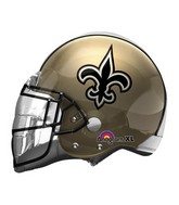 "21"" New Orleans Saints Helmet NFL Jumbo Balloon"