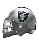 "21"" Oakland Raiders Helmet NFL Jumbo Balloon"