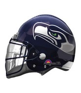 "21"" Seattle Seahawks Helmet NFL Jumbo Balloon"