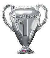 "28"" SuperShape Trophy Champion #1 Balloon"