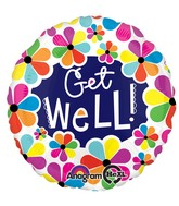 "28"" Get Well Petals  Jumbo Balloon"