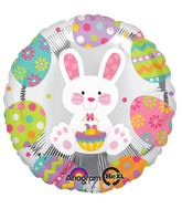 "18"" Easter Enchantment Balloon Packaged"