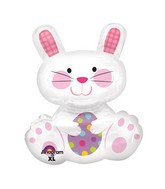 "29"" SuperShape Easter Enchantment Bunny Balloon"