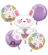 Bouquet Easter Enchantment Balloon Packaged