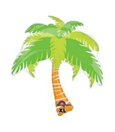 "33"" SuperShape Summer Scene Palm Tree Balloon"