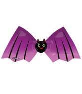 "32"" Junior Shape Little Bat Balloon Packaged"