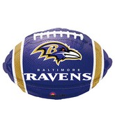 Junior Shape Baltimore RavensTeam Colors Balloon
