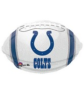 Junior Shape Indianapolis Colts Team Colors Balloon