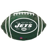Junior Shape New York Jets Team Colors Balloon