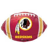 Junior Shape Washington Redskins Team Colors Balloon