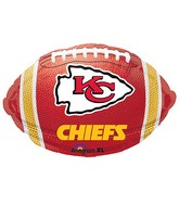 Junior Shape Kansas City Chiefs Team Colors Balloon