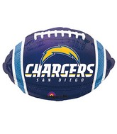 Junior Shape San Diego Chargers Team Colors Balloon