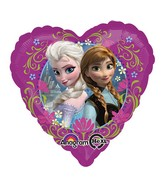 "18"" Disney Frozen Love Balloon Packaged"