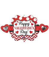 "39"" Happy Valentines Day Heart Marquee Balloon"