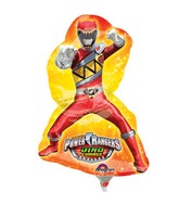 Airfill Only Mini Shape Power Rangers Dino Charge Balloon