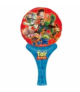 "12"" Inflate-a-Fun Balloon Toy Story Balloon Packaged"
