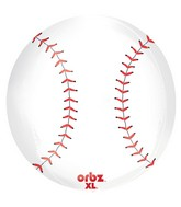 "16"" Orbz Baseball Balloon Packaged"
