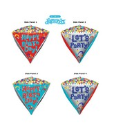 "17"" Ultrashape Diamondz Happy Birthday Packaged"