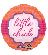 "18"" Little Chick Balloon Packaged"
