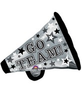 "29"" SuperShape Go Team Megaphone Balloon"