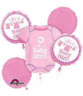 Bouquet Shower With Love Girl Balloon Packaged