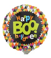 "4"" Airfill Only Boo Halloween Balloon"