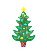 Airfill Only Mini Shape Festive Christmas Tree with Star