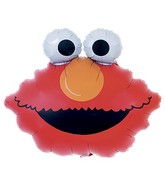 (Airfill Only) Sesame Street Balloon Elmo Head