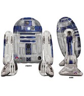 "38"" Airwalker Star Wars R2D2 Balloon Packaged"