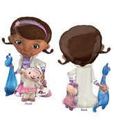 "46"" Airwalker Doc McStuffins Balloon Packaged"