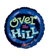 "18"" Holographic Oh No! Over the Hill Balloon Packaged"