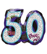 "26"" Oh No! It's My Birthday 50 Balloon"