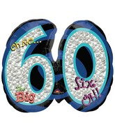 "26"" Oh No! It's My Birthday 60 Balloon"