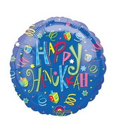 "18"" Hanukkah Fun Balloon"