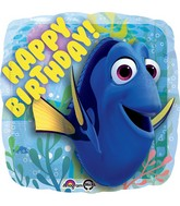 "18"" Finding Dory Happy Birthday Balloon"