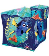 "15"" Jumbo Finding Dory Cubez Balloon Packaged"