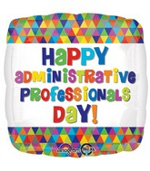 "18"" Administrative Professionals Day Balloon Packaged"