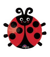 Airfill Only Happy Ladybug Balloon