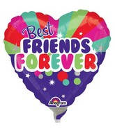 "9"" Airfill Only Best Friends Forever Balloon"